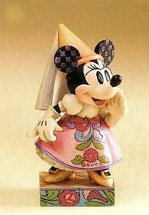 Demure and sweet Minnie Mouse figurine (Jim Shore Disney Traditions)