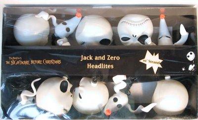 Jack Skellington Amp Zero Head Lights Set From Our Nightmare
