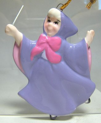 Fairy Godmother flat ornament from our Schmid Bros ...