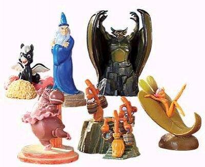 Fantasia Set Of 6 Miniature Pewter Figures Set 1 From