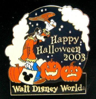goofy u0027happy halloween 2003u0027 pin walt disney world