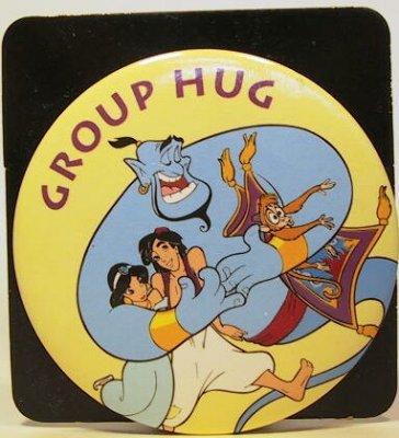 Group Hug button (Aladdin)