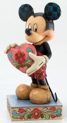 'A Gift of Love' - Mickey Mouse figurine (Jim Shore Disney Traditions)