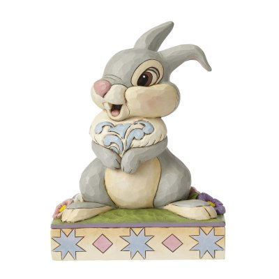 'Hopping into Spring' - Thumper figurine (Jim Shore Disney Traditions)