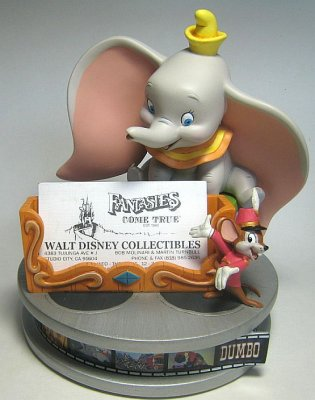 Dumbo and timothy mouse business card holder from our other dumbo and timothy mouse business card holder from our other collection disney collectibles and memorabilia fantasies come true colourmoves Gallery