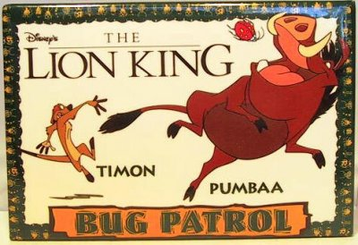 The Lion King - Bug Patrol button