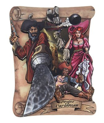 Pirates of the Carribean magnet