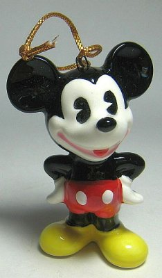 Pie Eyed Mickey Mouse With Hands On Hips Ornament From Our
