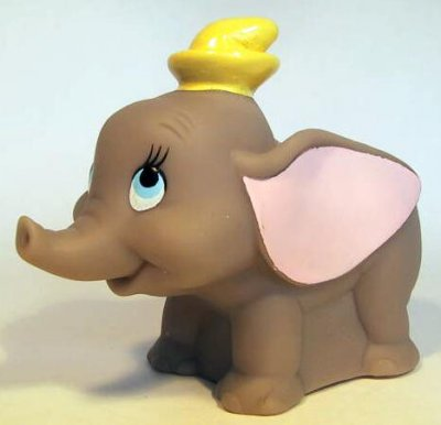 Dumbo Water Squirter Under 3 Fast Food Toy From Our Fast