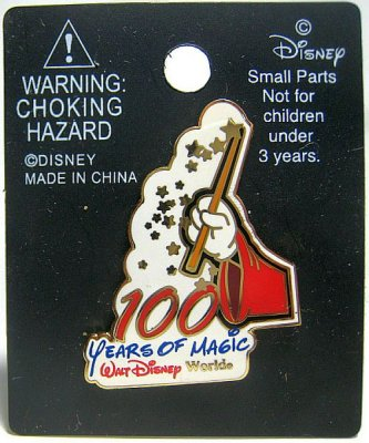 100 Years of Magic Walt Disney World pin from our Pins collection   Disney collectibles and ...