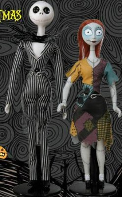 Jack Skellington and Sally porcelain doll set from our Nightmare ...