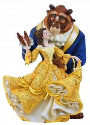 PRE-ORDER: Belle and Beast dancing 'Couture de Force' Disney figurine (2020)