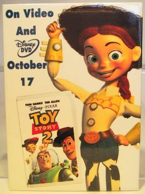 Toy Story 2 Video Amp DVD Release Button Jessie From Our