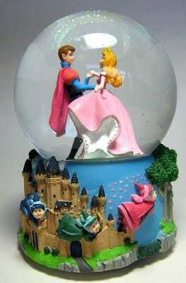 Sleeping Beauty Musical Snowglobe From Our Snowglobes And
