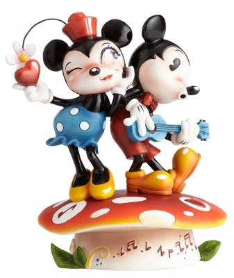 Minnie and Mickey Mouse Disney figurine (Miss Mindy)
