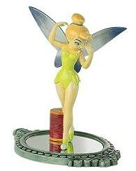 Tinker Bell on mirror figure (Royal Doulton)