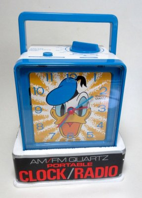 Donald Duck clock radio