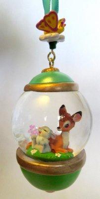 Globe Christmas Ornaments
