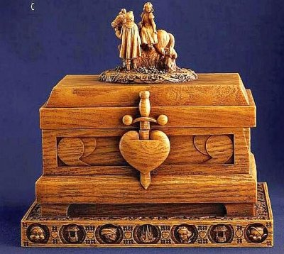 Heirloom Box Of The Evil Queen S Heart Box From Our
