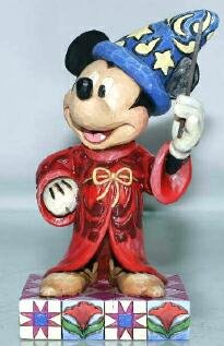 Touch of magic - Mickey Mouse as Sorcerer's Apprentice figurine (Jim Shore Disney Traditions)