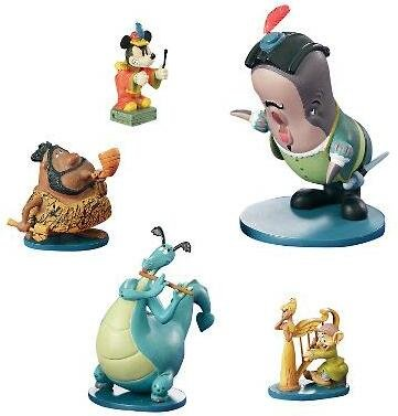 Disney Musical Moments Set Of 5 Pewter Miniatures From Our