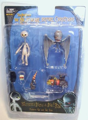 mummy boy bat kid action figure set - Nightmare Before Christmas Action Figures