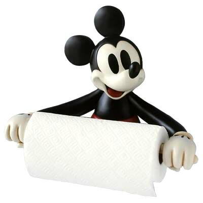 Mickey Mouse Paper Towel Holder From Our Other Collection