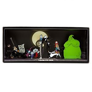 Nightmare Before Christmas Tiny Kingdom 5-piece boxed set of flat figures