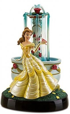 Belle Wishing Well Fountain Figurine From Our Other