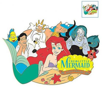 81520ff2d892d Little Mermaid 20th anniversary jumbo pin from our Pins collection ...