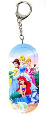 Disney Princesses Tin Box Keychain From Our Keychains
