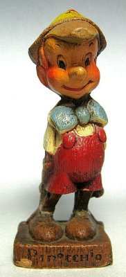Pinocchio syrocco figure (damaged)