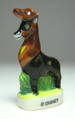 Adult Bambi - Great Prince of the Forest porcelain miniature figure