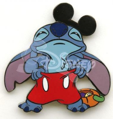 Stitch As Mickey Mouse For Halloween Pin From Our Pins