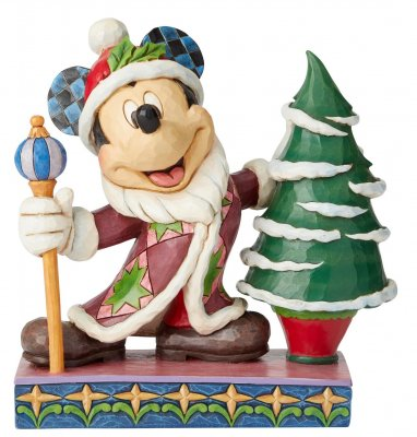 'Jolly Ol' St. Mick' - Mickey Mouse Father Christmas figurine (Jim Shore Disney Traditions)