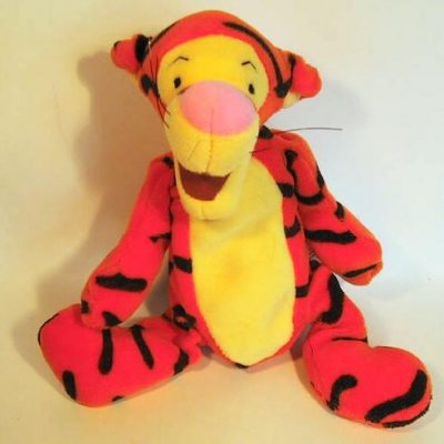 Tigger Beanie Baby From Our Plush Collection Disney