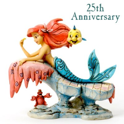 'Dreaming Under The Sea' - Ariel on rock figurine (Jim Shore Disney Traditions)