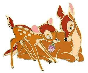 Bambi With His Mother On Mother S Day Pin From Our Pins Collection Disney Collectibles And