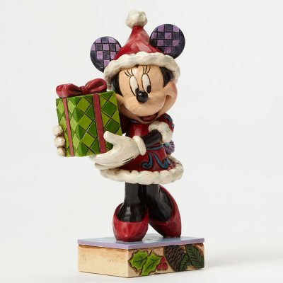 'A Holiday Gift For You' - Minnie Mouse figurine (Jim Shore Disney Traditions)