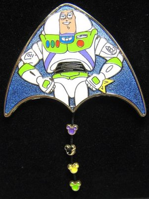 Buzz Lightyear Kite Pin From Our Pins Collection Disney