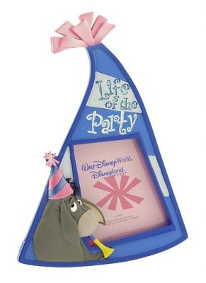 Life of the party - Eeyore party hat shaped picture frame