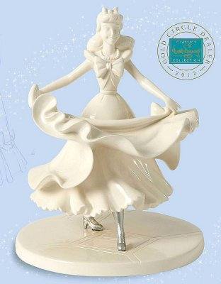 'Isn't it lovely? Do you like it?' - Cinderella figurine (WDCC) (WHITEWARE)