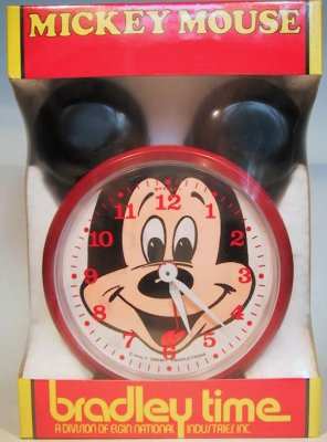 Mickey Mouse clock (Bradley)
