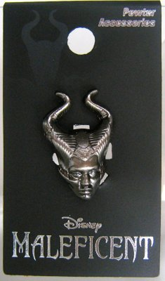Maleficent (Angelina Jolie) pewter lapel pin