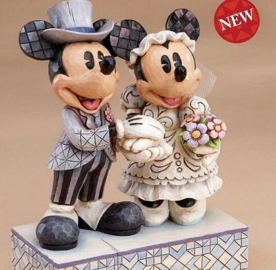 Congratulations Mickey Amp Minnie Wedding Figure From Our