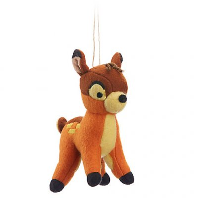 Bambi storybook plush Disney ornament