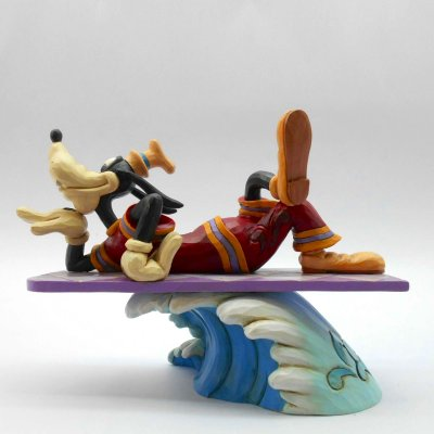 'Catch a Wave' - Goofy on surfboard figurine (Jim Shore Disney Traditions)