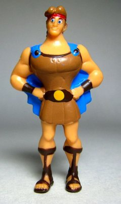 hercules with hands on hips pvc figure panini from our