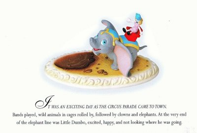 Dumbo's First Parade Story-time postcard