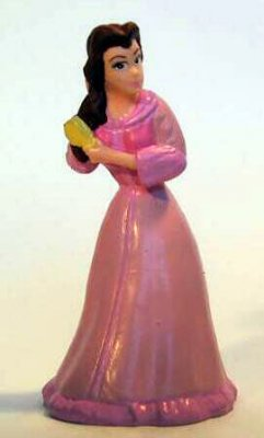 Belle in pink Disney PVC figure